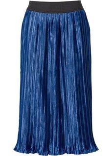 Плиссированная юбка (корица) Bonprix