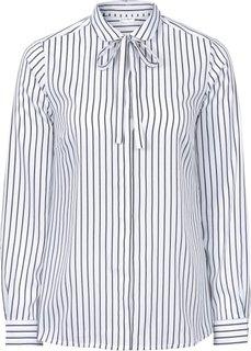 Блузка (черный/кремовый в горошек) Bonprix
