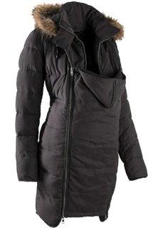Мода для беременных и молодых мам: куртка с карманом-вкладкой для малыша (кремовый) Bonprix