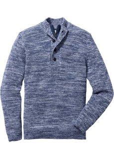 Пуловер Regular Fit (кленово-красный с узором) Bonprix