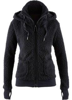 Куртка из плюшевого флиса (жемчужно-синий) Bonprix