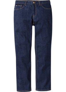 Прямые стрейтчевые джинсы, cредний рост (N) (серый) Bonprix