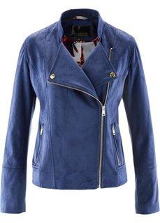 Байкерская куртка из искусственной кожи (коралловый) Bonprix