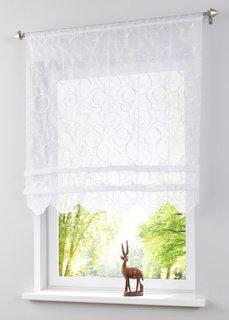 Римская штора Майя, кулиска (белый) Bonprix