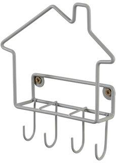 Подставка для ключей и писем Домик (серый) Bonprix