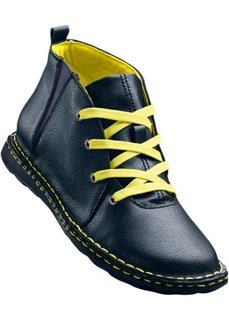 Кожаные ботинки (верблюжий) Bonprix