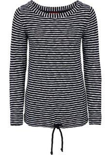 Пуловер с длинным рукавом (темно-бордовый/ежевичный) Bonprix