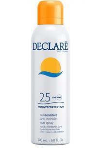 Солнцезащитный спрей с омолаживающим действием Anti-Wrinkle Sun Spray SPF 25 Declare