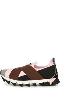 Кроссовки Ibiza на рельефной подошве Dolce & Gabbana