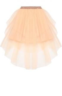 Пышная многослойная юбка Jean Paul Gaultier
