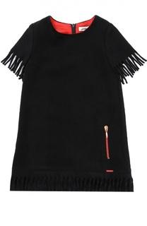 Платье прямого кроя с бахромой Jean Paul Gaultier
