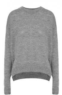 Шерстяной пуловер свободного кроя со спущенным рукавом Acne Studios