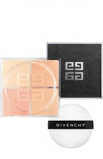 Рассыпчатая пудра для лица Prisme Libre, оттенок бежевая тафта Givenchy