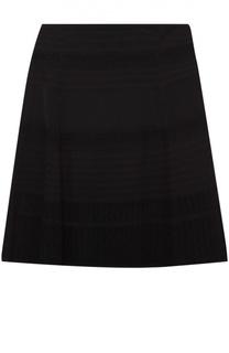 Мини-юбка А-силуэта с кружевной вставкой Diane Von Furstenberg