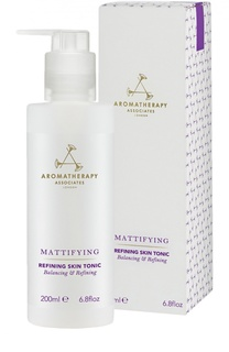 Тоник для жирной и смешанной кожи с поросуживающим эффектом Refining Skin Tonic Aromatherapy Associates