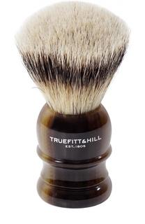 Помазок Шерсть барсука/Рог с серебром Wellington Truefitt&Hill Truefitt&Hill