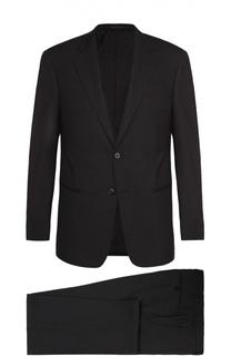 Шерстяной костюм с однобортным пиджаком Armani Collezioni