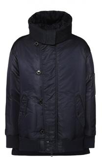 Утепленная куртка на молнии с капюшоном Diesel