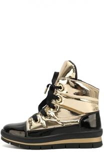 Ботинки из металлизированного текстиля Jog Dog