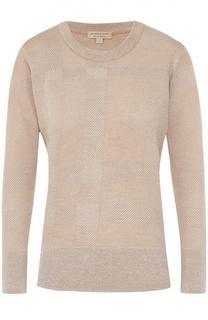 Пуловер прямого кроя с фактурной отделкой Burberry