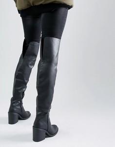 Сапоги-ботфорты New Look - Черный