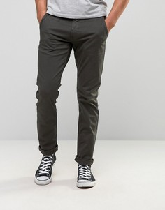 Серые джинсы слим Blend Twister - Серый