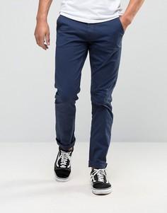 Синие узкие джинсы Blend Twister - Темно-синий
