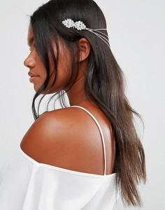 Броское украшение для волос Cara NY - Серебряный