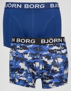2 пары боксеров-брифов Bjorn Borg - Черный