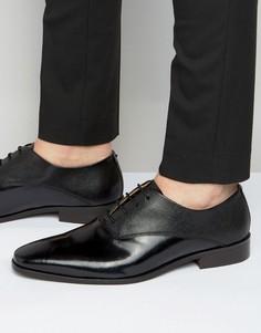Кожаные оксфордские туфли KG Kurt Geiger Barkar - Черный