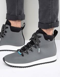 Ботинки на шнуровке Native AP Apex - Серый