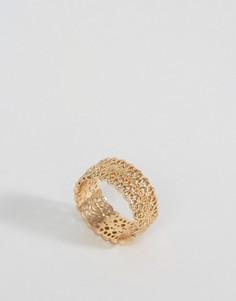 Кольцо с гравировкой Nylon - Золотой