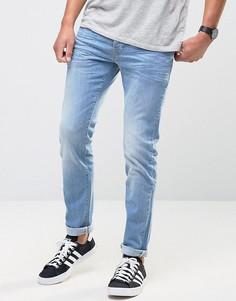 Светлые джинсы скинни Firetrap - Синий