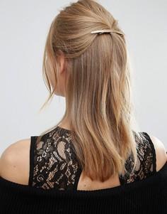 Золотистая заколка для волос Orelia - Золотой