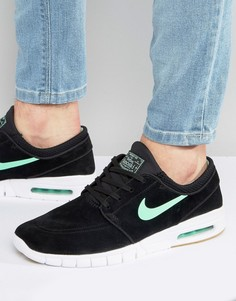 Черные кроссовки Nike SB Stefan Janoski Max L 685299-039 - Черный