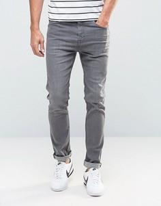 Серые зауженные джинсы New Look - Серый