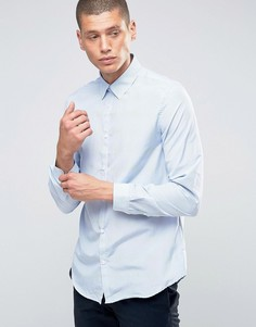 Рубашка в тонкую полоску New Look - Темно-синий