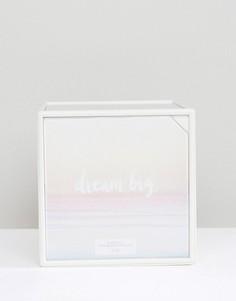 Вращающаяся кубическая рамка для фотографий New Look - Белый