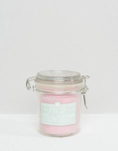 Свеча в баночке с ароматом клубники New Look - Белый