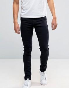 Темно-синие зауженные джинсы New Look - Темно-синий