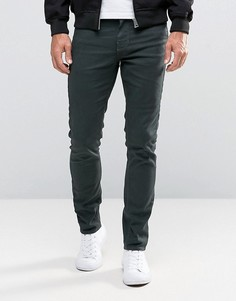 Облегающие зеленые джинсы с 5 карманами New Look - Зеленый