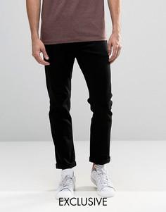 Черные узкие джинсы стретч Noak - Черный