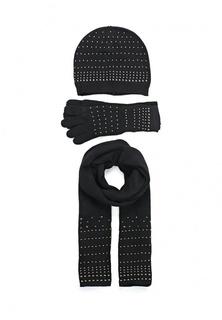 Комплект шапка, шарф и перчатки Fiorella Rubino