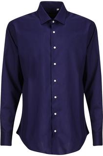 Рубашка с контрастными пуговицами Al Franco