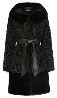 Шуба из меха козлика Virtuale Fur Collection