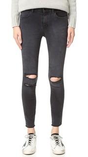 Укороченные джинсы скинни Photo Ready со средней посадкой J Brand