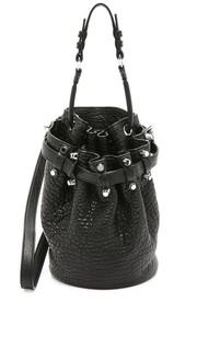 Маленькая сумка-ведро Diego Alexander Wang