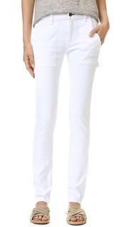 Узкие джинсы-бойфренды со средней посадкой Rag & Bone/Jean