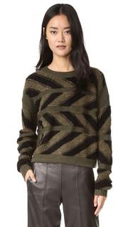 Пуловер Inlay Cross Public School