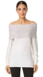 Кашемировый свитер с открытыми плечами Maiyet